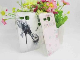 Wholesale Hot Transparent Side Hard Plastic Case For Lenovo A316 Animated Cartoon Rear Covers