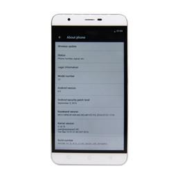 Pouces 1gb en Ligne-L3 Adroid 6.0 Dual Core Smartphones Unlocked Téléphones Mobiles 3G 4G HD écran Fingerprint ID 1GB RAM 8GB ROM MTK6580 5.5 pouces téléphone portable mobile