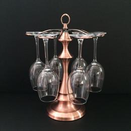 100 étagères étagère en fer forgé titulaire de verre de vin titulaire étagères pour les barres, étagères de vin vintage Goblet coupe Champagne stand de séchage Stand à partir de supports métalliques pour le verre fabricateur