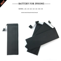 Wholesale New AAAAA High Quality Replacement battery iphone4 s g s c g s plus splus With Package Free UPS Fedex Ship