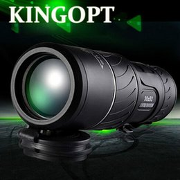 Wholesale Monocular X52 night vision than infrared telescope single cylinder double adjustable military binoculars with times