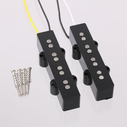 Wholesale SET JAZZ BASS GUITAR PICKUP FOR NECK POSITION ALNICO