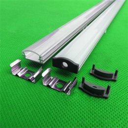 10m 10X1m 40inch 18*8.4mm led aluminium profile for led tape and rigid strip ,led bar light with 5050 5630 strip for indoor use