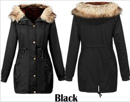 Womens Down Parkas Extremely Thick Winter Coat Boy Long Parkas Women Outwear Padded winter Female Fur Jacket