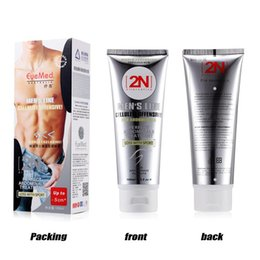 Wholesale 10PCSlot Powerful stronger N cream MEN muscle strong anti cellulite fat burning cream slimming gel for abdominals weight loss