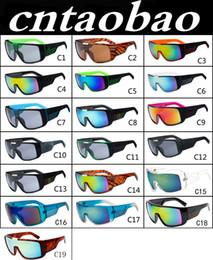 Wholesale MOQ Men s Sunglasses Brand Designer Oculos de Sol Big Frame Face Domo Men Sports Coating Eyewear Gafas De Sol Masculino B2030