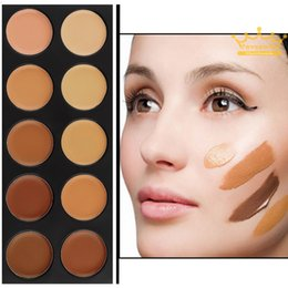 Wholesale Professional Makeup Colors Concealer Palette Face brightener highlighter primer Cream Make Up Cosmetics foundation tool