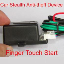 Dispositivos anti-robo de coches en venta-El coche de inducción táctil del coche del dispositivo antirrobo para el sistema de alarma de coche / táctil del dedo de la tableta para el M6220 del coche del comienzo del motor