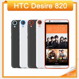 "Original HTC Desire 820 Unlocked 4G LTE Mobile Phone 5.5"" Touchscreen 2GB RAM 16GB ROM 13.0MP Camera Android 4.4 Cellphone"