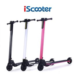 Wholesale Fiber Carbon Electric Scooter Foldable Moter Bike Scooter Hoverboard Lightest Electric Wheel Mobility Commuter hover board LG Battery