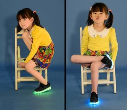 2016 children's LED light shoes kids Nightclub dance shoes boys and girls sneaker fashion shoes casual shoes for 4-16 years child.
