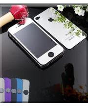SSC019 For iphone6 Tempered Glass Screen Protector Colorful Mirror Tempered Glass