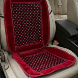 Wholesale Good Quality Natural Wood Bead Seat Cushion Universal Auto Car Home Chair Cover Tan Beaded Seat Cover EA5030