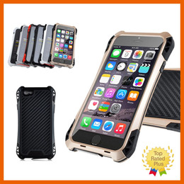 Waterproof Shockproof Aluminum Glass Metal Case Cover For iPhone Apple 5 5s 6 6s 6+ Plus