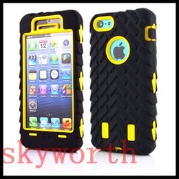 Wholesale Tire Robot Hybrid Heavy Duty Shockproof PC Silicone Case for iphone S SE iphone S Plus Samsung S5 S6 edge Note