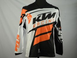 Free shipping 100% polyester KTM motorcycle jersey Quick dry motorbike racing wear mens cycling shirts KTM Motocross Jerseys M-X
