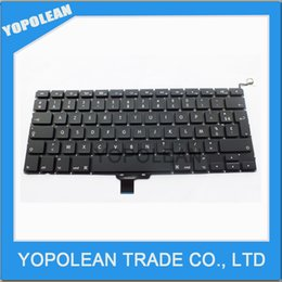 Wholesale Genuine FR French Keyboard For Macbook Pro A1278 French FR France Keyboard Replacement High Quality