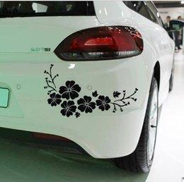 Wholesale Car scratch sticker Flower reflective sticker personality Bumper sticker bumper stickers automotive decorative supplies KX