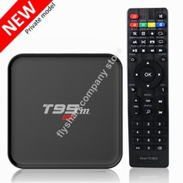 Wholesale Amlogic S905x TV Box Android T95m Smart Media Boxes XBMC Kodi Fully loaded OTA update plastic case T95 K TV Box