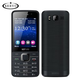 Wholesale Quad SIM Cards HD Big Screen SIM cards standby phone with Dual Camera GPRS Bluetooth vibration Support multi language Russian