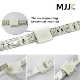 Wholesale 100pcs MM PIN mm PIN PCB Solderless Connectors Adapter for SMD RGB Single Color LED Strip Light