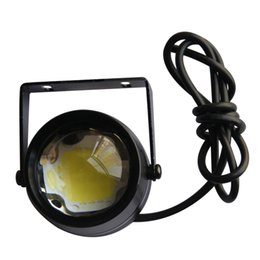 Wholesale TR W LED Angel Eye Fog Light Bulbs Working Lamp Daytime Running Lights Xenon White DRL Halo Ring Projector