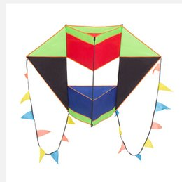 Wholesale 3D kite baskets kite with handle line weifang kite flying hcxkite factory ripstop nylon fabric outdoor toys