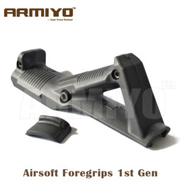 Wholesale Armiyo st Gen Airsoft Rifle Angled Foregrip Tactical Fore Grip Shelf Hunting Gun Accessories