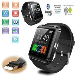 Wholesale 2016 Factory cheap U8 smartwatch U8 Bluetooth Smart Watch Phone Mate For Android IOS Iphone Samsung LG Sony