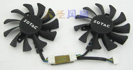 Wholesale ZOTAC mm graphics card fan DC V A GA81S2U Display cooling fan