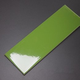 Wholesale 100x300 quot x12 quot Apple Green Gloss Glazed Ceramic Wall tiles for kitchen and Bathplace balcony commercial space