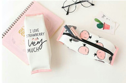 2016 Wholesale Pencil Case Pen Pouch Pen bag Case Zipper Pouch for students