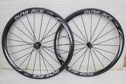 Wholesale HOT SALE mm grey logo Carbon clincher full Carbon fiber road bike wheels