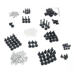 Wholesale Fairing Bolt Kit CNC Aluminium Clips Screws Fastener Hardware For Honda Suzuki Kawasaki Yamaha Motorcycle Complete Common Size