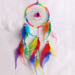 Wholesale Handmade Craft Antique Dream Catcher Feathers Window Car Wall Hanging Decoration DreamCatcher