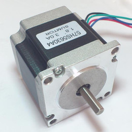High Precision 1.8 NEMA 23 Stepper Motor 120N.cm 167oz-in Body Length 56mm CE ROHS CNC Stepper Motor