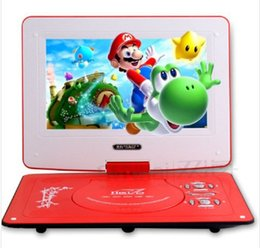 Wholesale Top selling mobile DVD inch DVD Slim Portable DVD player theater and singing machine small card MP3 best kids gifts