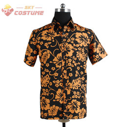 Wholesale Fear and Loathing in Las Vegas Raoul Duke Shirt Halloween Party Cosplay Costume