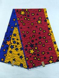 Wholesale NTHL05 NEW arrival cotton super wax hollandais fabric wax African hollands wax fabric batik fabrics yards