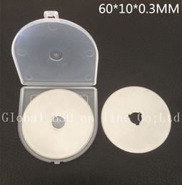 10-60MM rotary cutter blades Germany material very good to use Fit of olfa,fiskar,clover and more rotary cutter handle