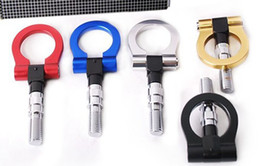 Wholesale-JAPAN MODELS CAR RACING TOWING HOOK  tow hook colorful car tow hook aluminum free shipping