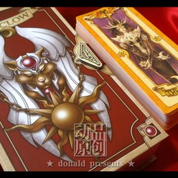 Wholesale Hot Cardcaptor Sakura THE CLOW Card THE CLOW Book SET Cosplay Magic Cards Divination New in Box