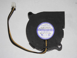 Wholesale EVERCOOL EC5015H12E B V A Wire Cooling Fan
