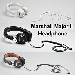 Marshall Major II Bluetooth Headphones with Mic Deep Bass DJ Hifi Headset Professional Studio Monitor Noise Cancelling Sport Earphone