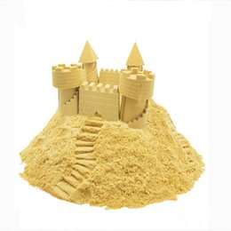 Wholesale magic sand molding toys castle toys sea toys beach sand toys no mess indoor outdoor kinetic sand
