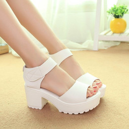 Summer waterproof table fish mouth female sandals