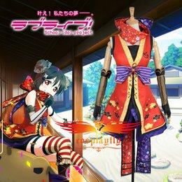 Wholesale Custom Made Free Postage - Wholesale-Free Postage Love Live! Yazawa Nico Cos Awakening Ninja Shinobi Cosplay Costume custom made