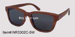 Wholesale antique walnut wood sunglasses