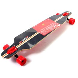 Wholesale Ferrari quot x9 quot Longboard Complete Skateboard Bamboo Deck ABEC Bearing Long Board for Adult Men and Women Outdoor Sports