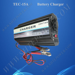 Three stage charging CE ROHS battery 24v 15a ac to dc charger